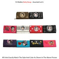 10-Wallets Betty Boop - Assorted Lot G
