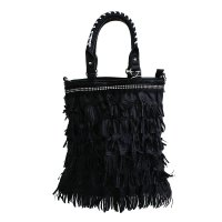 Black Fashion Tote Handbag - PAM018