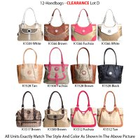 12-Handbags - Clearance Lot D