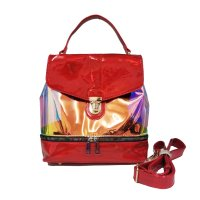 Red Hologram Fashion Backpack Set - HAR5 5692