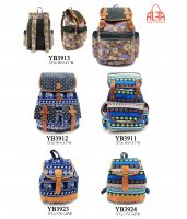 5-Pack Assorted Backpack Lot - YB3913/12/11/23/24 Multi Color