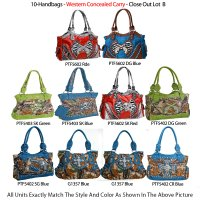 10-Handbags - Western Concealed Carry - Close Out Lot B