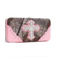 Pink 'Real Tree' Hard Case Wallet - RT1-AW251A HW