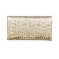 Gold Fashion Wallet - LF1562-1