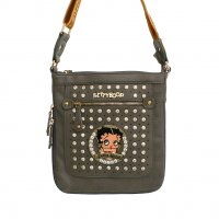 Tan Betty Boop Messenger Bag - B17B36