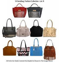 10 Handbag Fashion Design Collection - Lot B