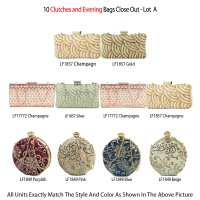 10 Clutches and Evening Bags Close Out - Lot B
