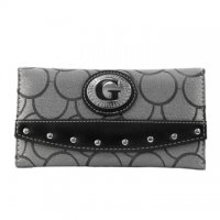 Gray G-Style Wallet - KW283