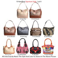10 Handbags - G & M Style - Lot A