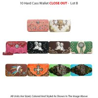 12 Fashion Wallets Close Out - Lot B