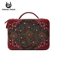 Wine 'Cowgirl Trendy' Bible Cover Case - WWA 455