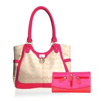 Fuchsia M-Style Packback Bag with Wallet - K1512-KW238