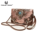 Natural Cowgirl Trendy Buckle Western Messenger Bag - MXO5 400