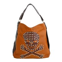 Brown Fashion Ed Hardy Hobo Handbag - JH3922