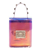 FASHION SEMI TRANSPARENT CROSSBODY