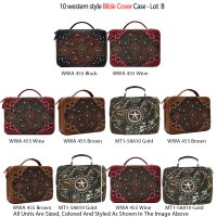 10 Handbags Bible Cover Case Collection - Lot A