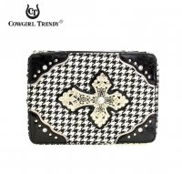 Black 'Cowgirl Trendy' Bible Cover Case - CHB 455