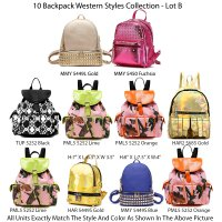 10 Backpack Lot B
