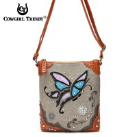 Amber Western Cowgirl Messenger Bag - HDY 469B