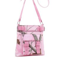 Pink Western Realtree Camouflage Messenger Bag - RT1-8535A APP