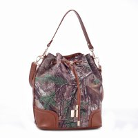Brown 'Real Tree' Camo Bucket Bag - RG1-512270 XTRA