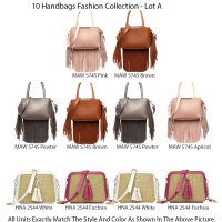 10 Handbag Fashion Collection - Lot A