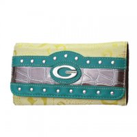 Green G-Style Wallet - KW257