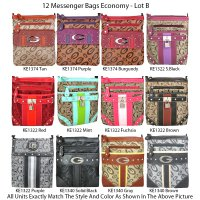 12 Messenger Bags - Economy Lot B