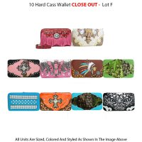 10 Signature Inspired & Fashion Wallets Close Out - Lot F