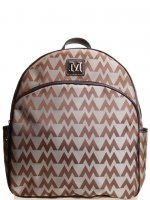 Brown Signature Style Wholesale Backpack - K1495