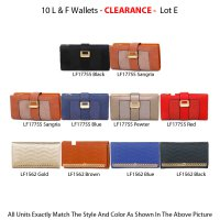 10 L & F Wallets Clearance - Lot E