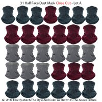 31 Half Face Dust Mask Close Out - Lot A