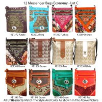 12 Messenger Bags - Economy Lot C