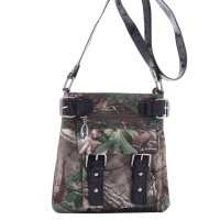 Black Western Realtree Camouflage Messenger Bag - RT1-8535A XG