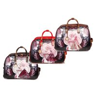 "Arosa ""Queen Lady"" Wheeled Duffel Handbag - BGD6988"