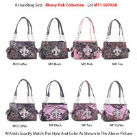 8 Handbags 'Mossy Oak & Pine' Collection - MT1-58792A