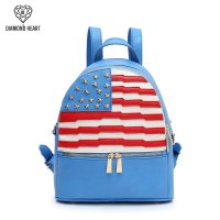 Blue American Flag Fashion Backpack - DH 265