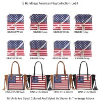 Special 12 Handbags Great America Collection - Lot B