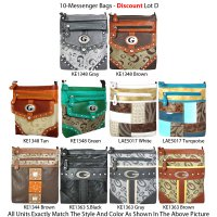 10 Messenger Bags - Economy Lot D