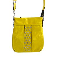 Light Yellow Fashion Neon Messenger Bag - NP443