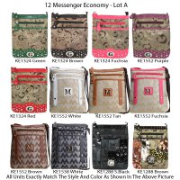 12 Messenger Bags - Economy Lot A