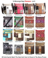 16-Messenger Bags - Clearance Lot A