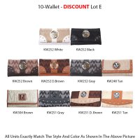 10 Wallets Economy Lot - E