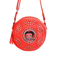 Coral Betty Boop Messenger Bag - B15L2070