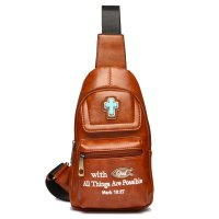 "Brick "" With God All Things Are Possible"" Backpack - BCU 5656"