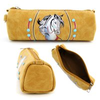 Camel Western Coin Purse Wallet Pouch Makeup Bag - PTF17177