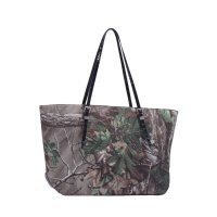 Black Realtree Xtra Camo Shopper Tote Handbag - RT1-500682A XG