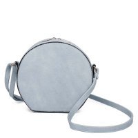 BLUE FASHION CUTE CHIC EMBLEM CROSSBODY BAG