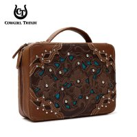 Brown 'Cowgirl Trendy' Bible Cover Case - WWA 455