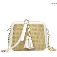 White Hue & Ash Satchel Cute Messenger Bag - HNA 2544
